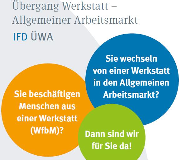 Integrationsfachdienst (IFD) Übergang Werkstatt – Allgemeiner Arbeitsmarkt